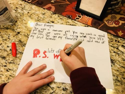 Superhero 2's Letter