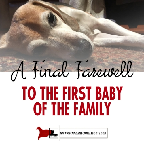 A Final Farewell to the First Baby of the Family