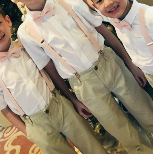 Ring Bearers and Ushers