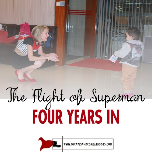 The Flight of Superman, Four Years In