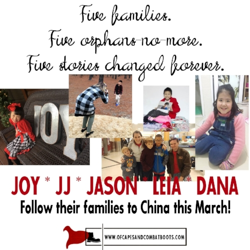 Follow Five Families This March