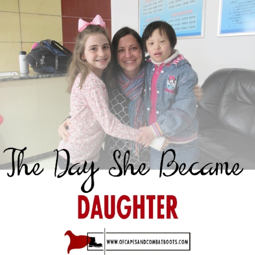 The Day She Became Daughter