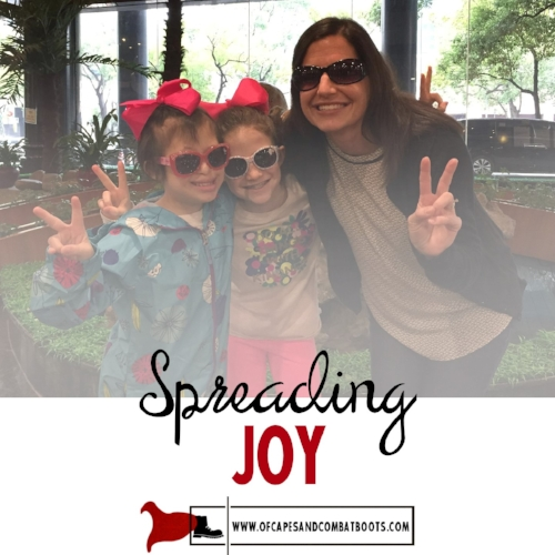 By Guest Blogger Angela Kreh, Joy's new forever mama