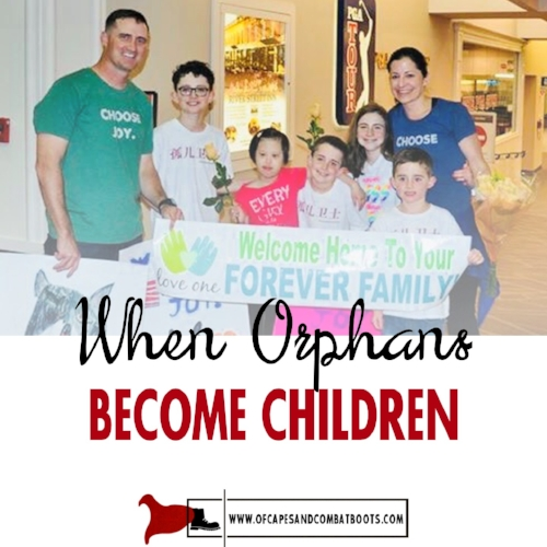 When Orphans Become Children