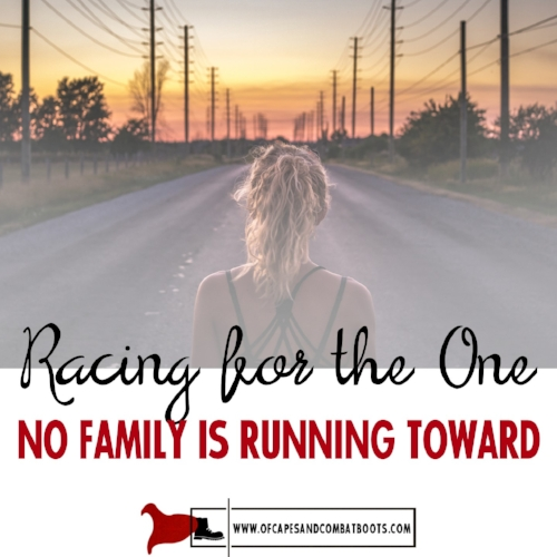 Racing for the One No Family is Running Toward