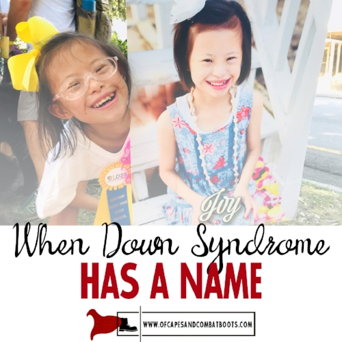 When Down Syndrome Has a Name