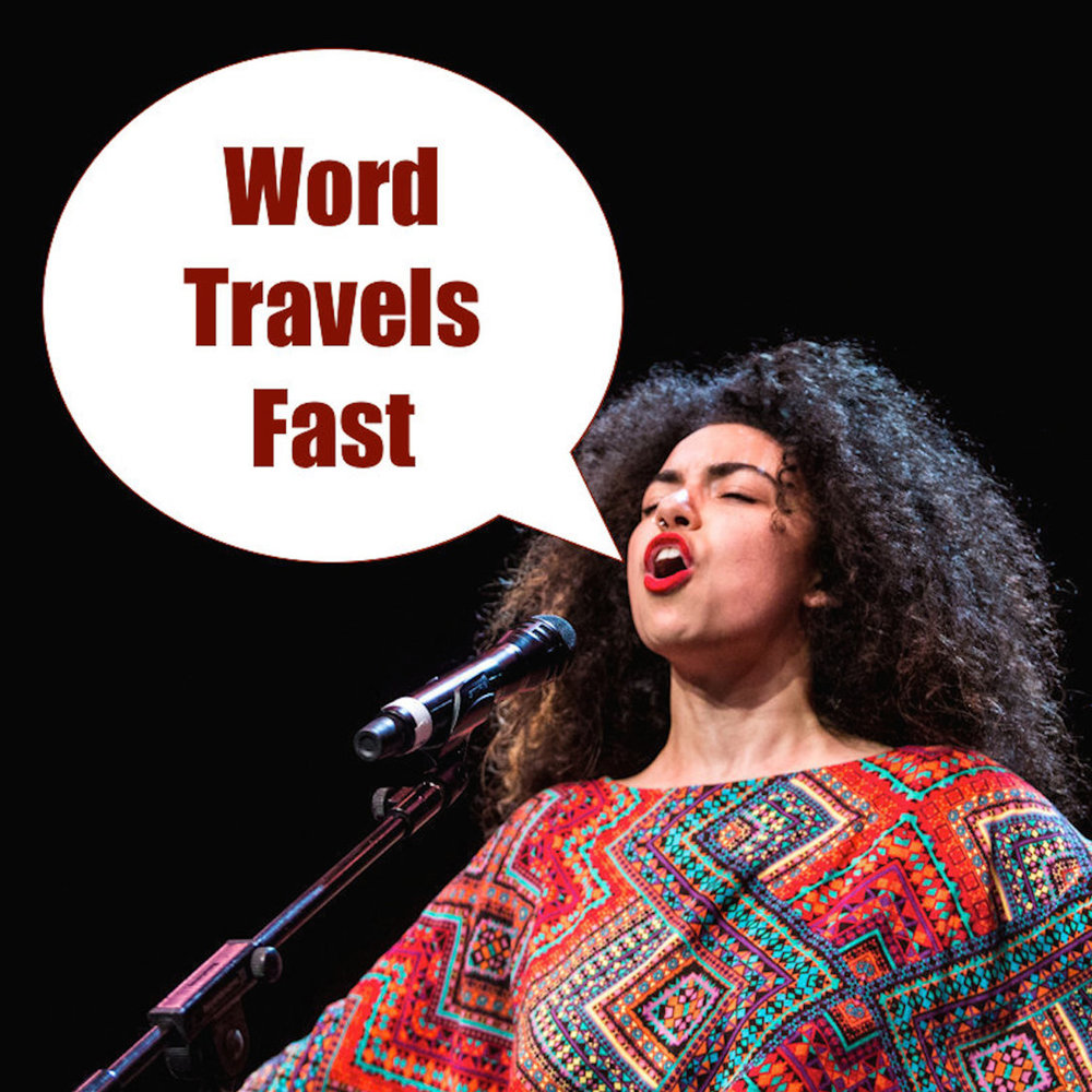 Word Travels Fast Arielle Cottingham 2016 Australian Poetry Slam