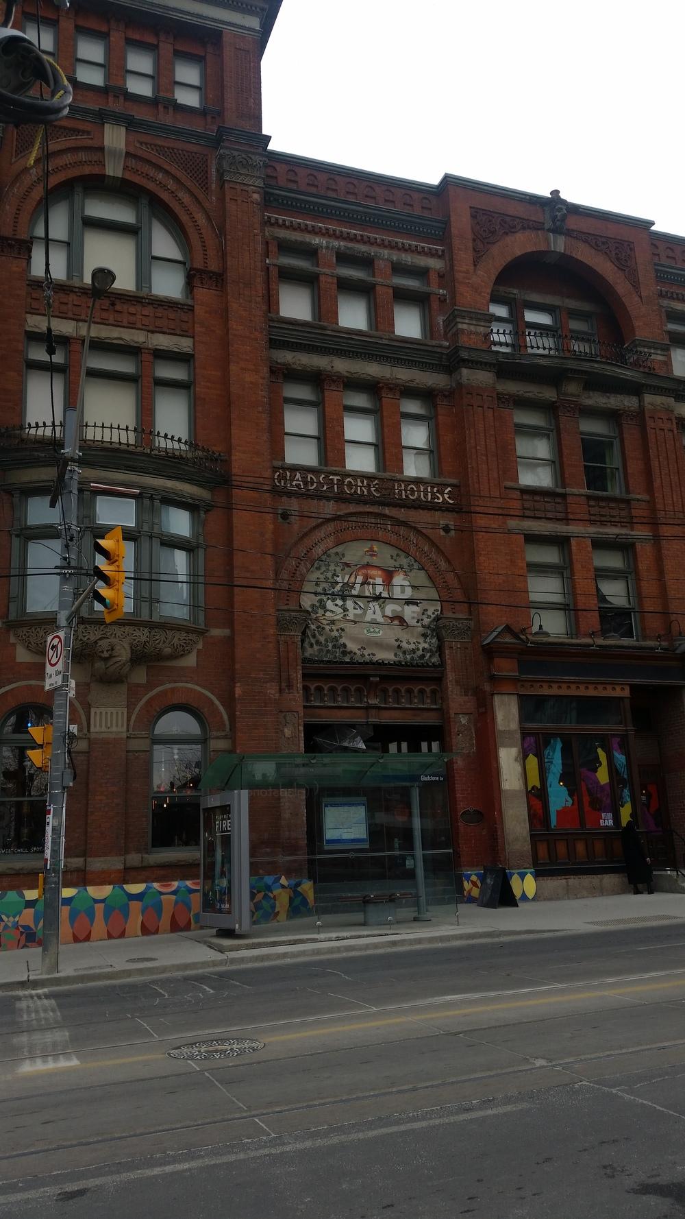 The historic Gladstone Hotel