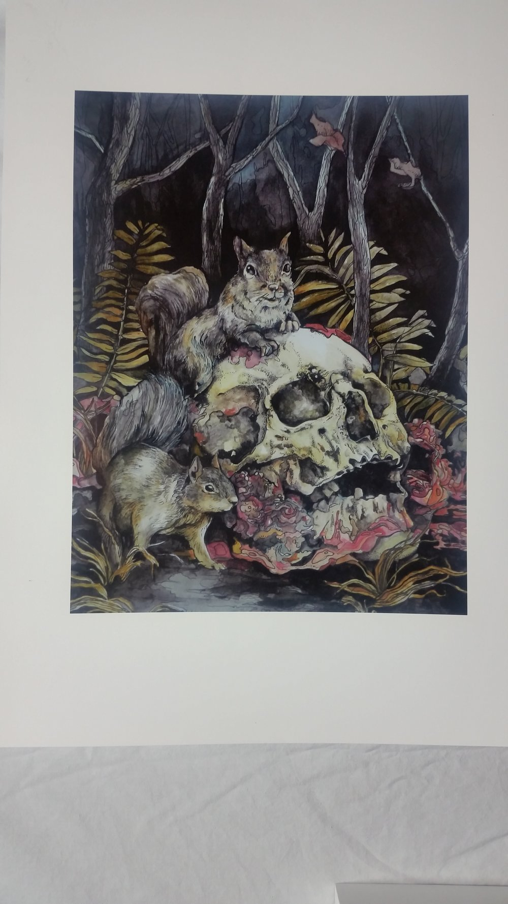 Creepy art by Patricia Taylor