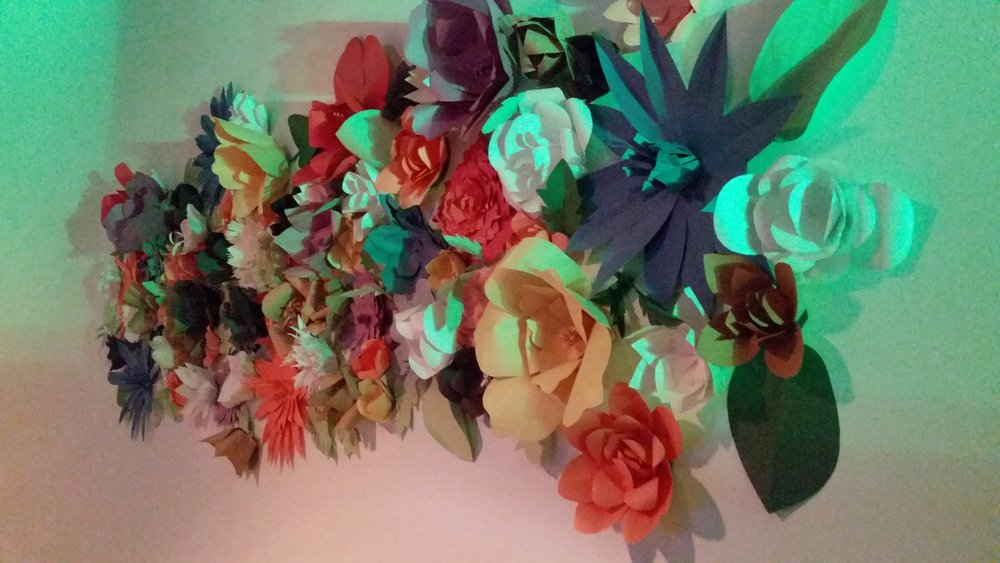 Paper Flowers by Lush Lemon Design Pulp Petals Backdrop – A Beautiful Cycle. From Plant to Pulp…From Pulp to Petals.