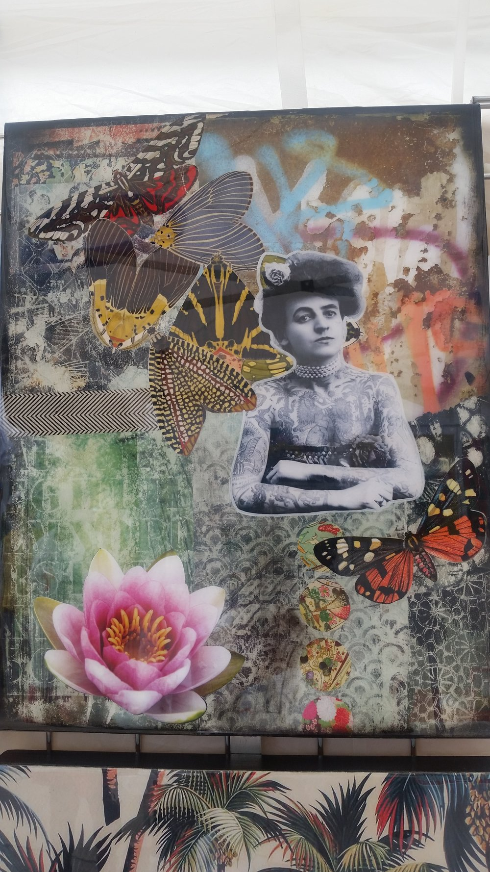 Collage art by Josee Duranleau