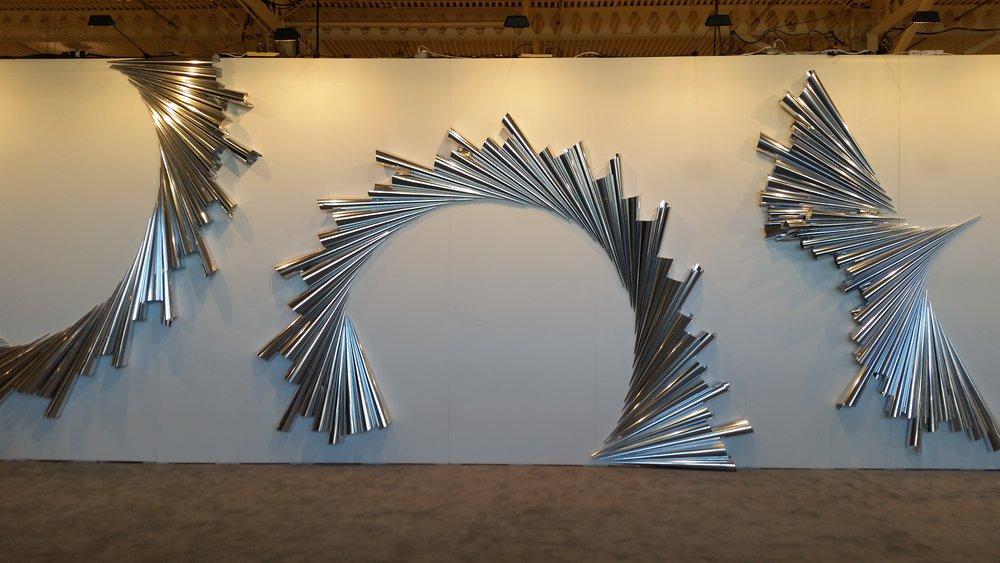 Shine On  by Quebec based artist Nathalie Sanche