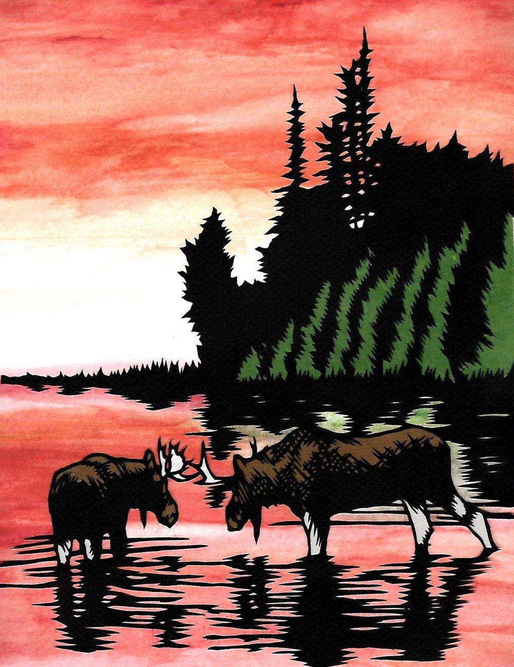 Evening Moose (Final).jpg