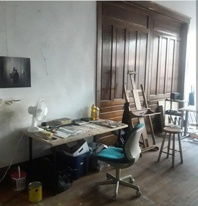 Tess's studio