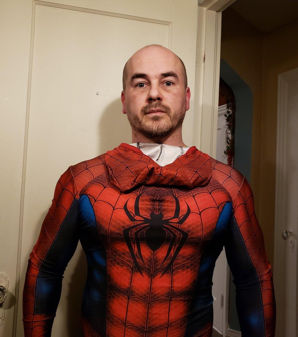 Spiderman? Or Paul Curwin?