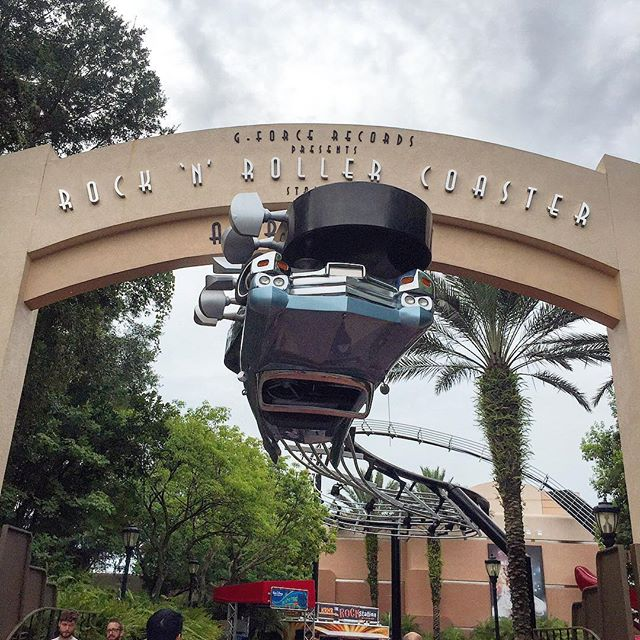 Always a good time to ride the Rock 'n Roller Coaster at Hollywood Studios #travel #family #fun #hollywoodstudios #wdw #waltdisneyworld #orlando #theorlandotravelguide #holiday #instagood #instadaily #instatravel #amusementpark #disney