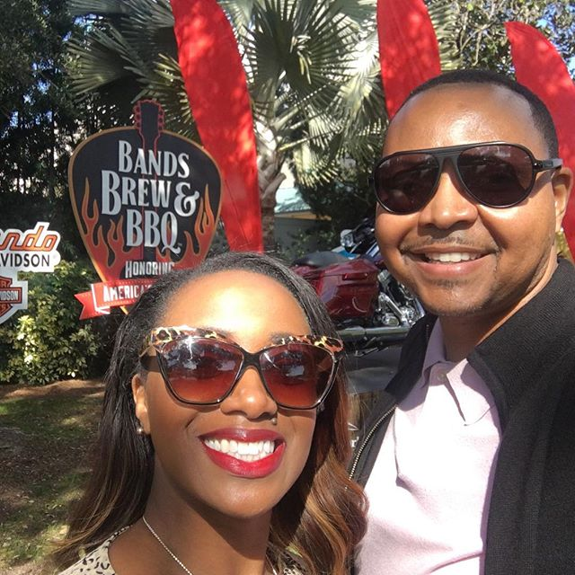 """Happy Valentines Day from """"Bands Brew and BBQ"""" Event at @seaworldorlando waiting to see Gladys Knight perform live! #theorlandotravelguide #seaworld #seaworldorlando #bandsbrewbbq #orlando #thingstodo #valentines #travel #amusementparks #fun #family"""
