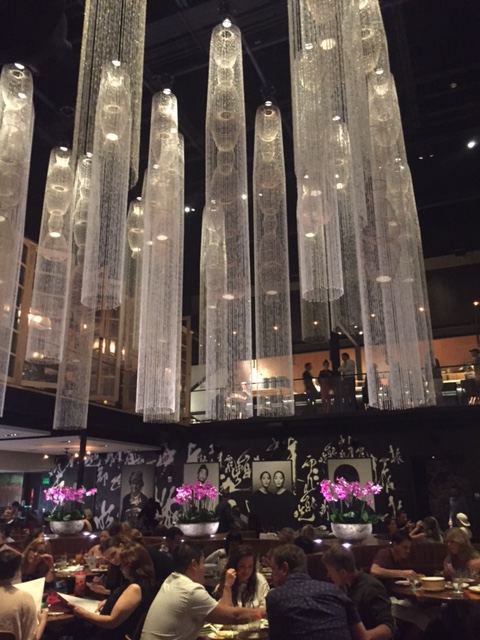 Dining Area at Morimoto