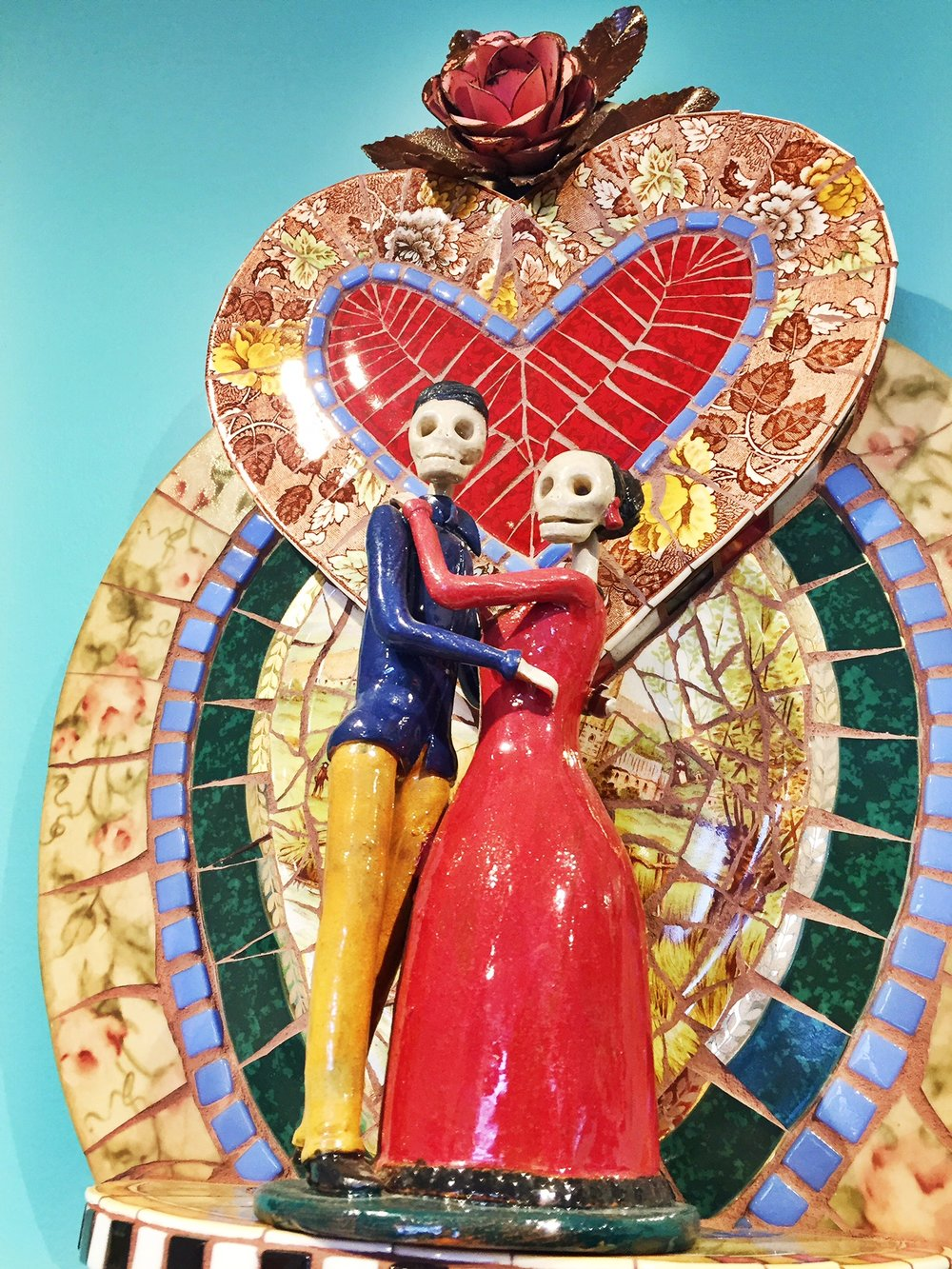 Valentine's Day themed Mosaic