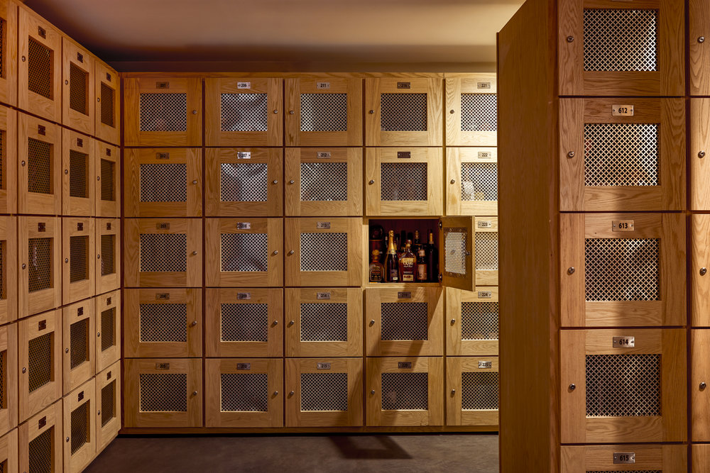 Personal Cellar Storage - Each member gets a locker in our cellar – an entire room that is kept at 57 degrees and is below ground for the perfect atmosphere. Keep in your locker what you love, so the next bottle you pour for friends is one that you've selected yourself.