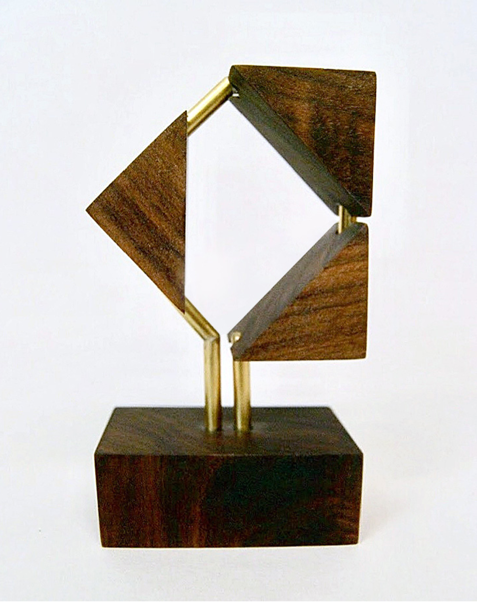 Brass and Walnut, 2016