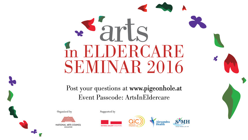 Arts in eldercare 2016