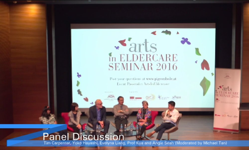 Taken from a live broadcast by VideoSpace for National Arts Council (Singapore)