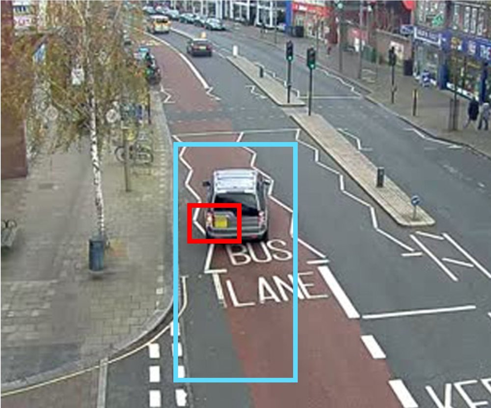 video search engine bus lane detection
