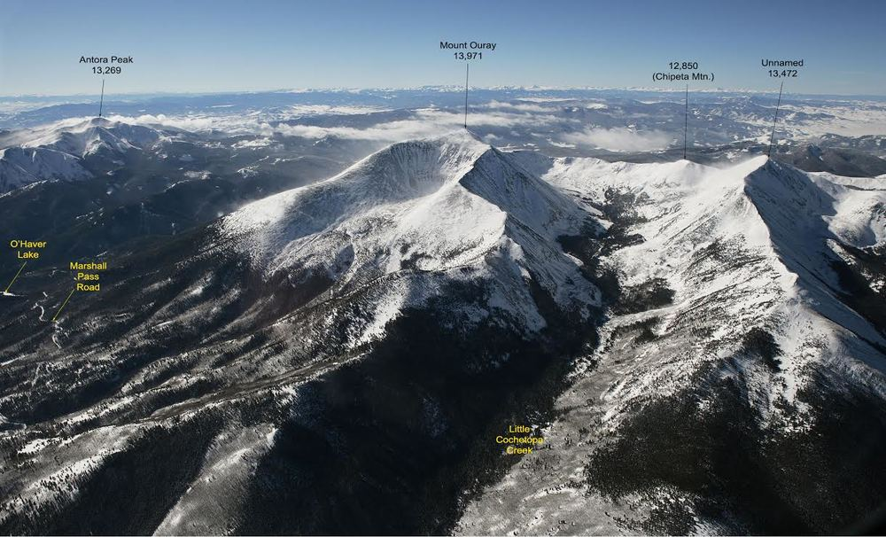 click on thumbnail to enlarge - Above: Photo by Wojtek Rychlik,  Pikes Peak Photo