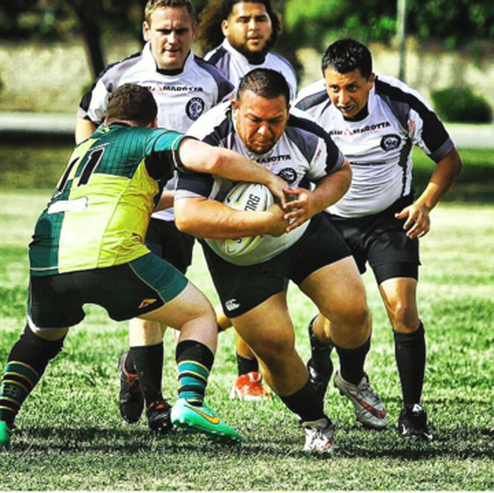 Anthony Subia DC Rugby