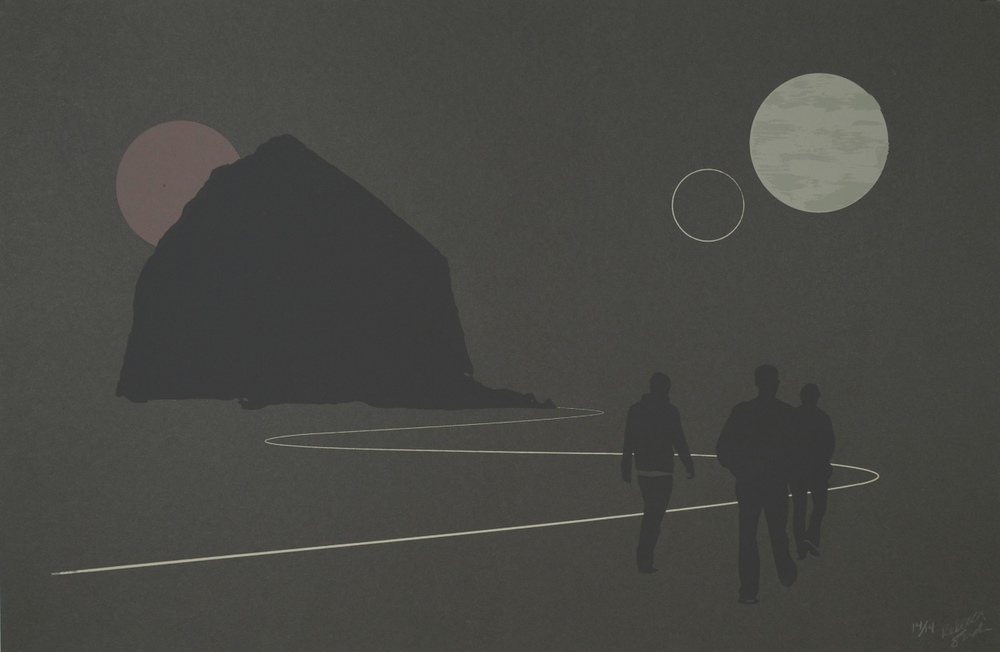 Untitled (Lunarscape Monolith)