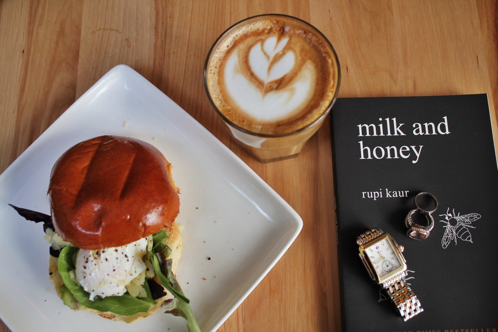 """#2 - Milk and Honey by Rupi Kaur """"The book is divided in four chapters, and each chapter serves a different purpose. Deals with a different pain. Heals a different heartache. Milk and Honey takes readers through a journey of the most bitter moments in life and finds sweetness in them because there is sweetness everywhere if you are just willing to look."""""""