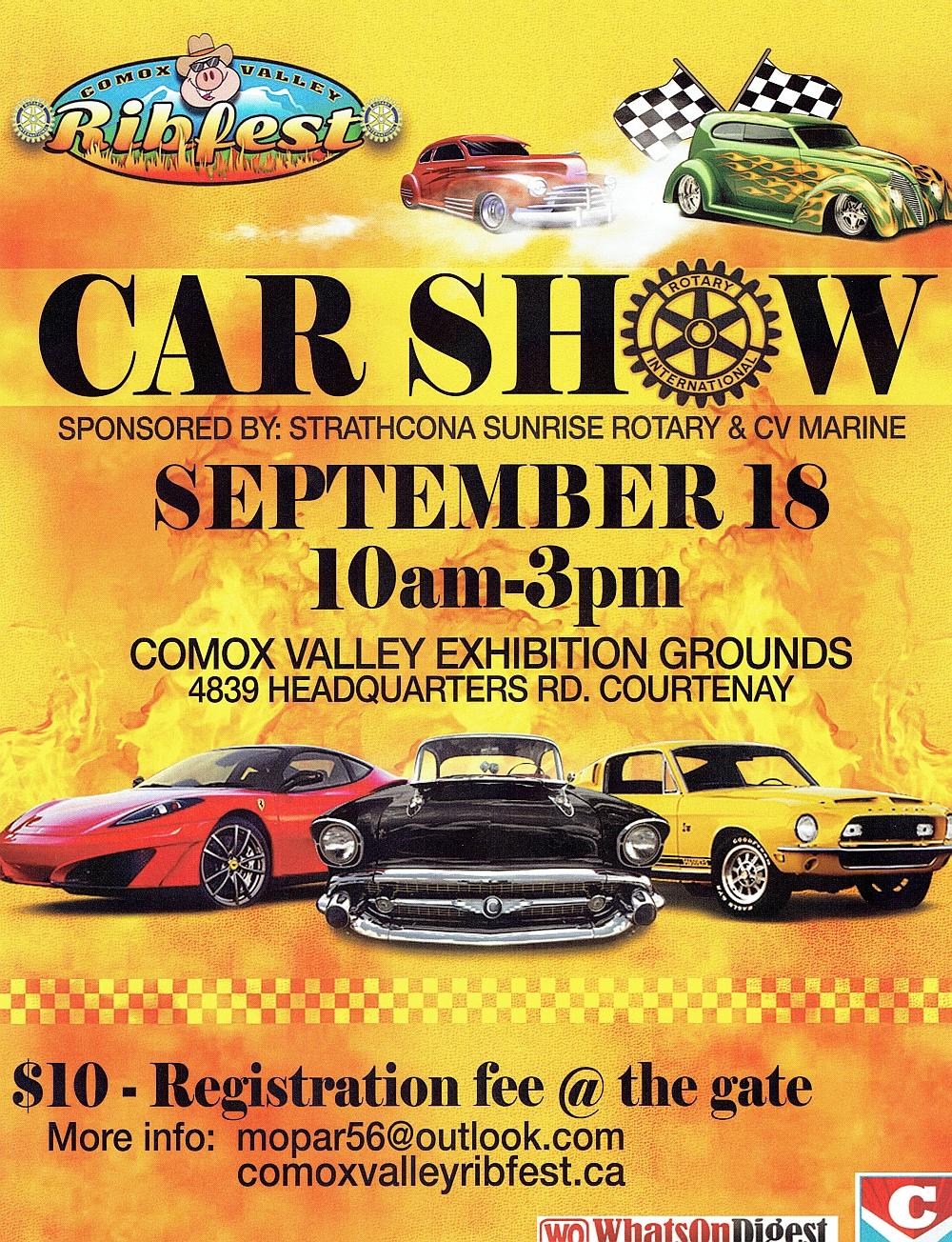 2016 Sept 18 Car Show Ribfest  poster.jpg