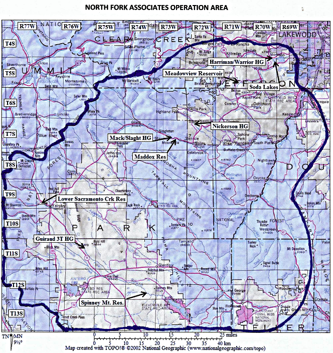 colorado water for sale, north fork associates