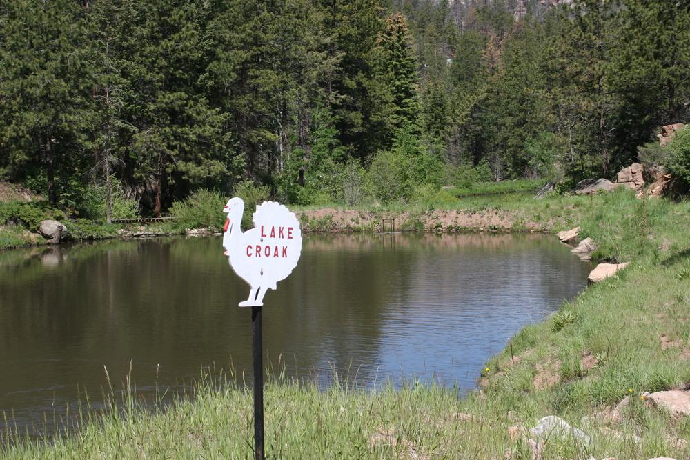 Pond evaporation