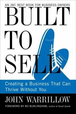 "Built to Sell: Creating a Business That Can Thrive Without You - Are you working too hard IN the business and not enough working ON the business? ""Built to Sell"" is a refreshing, easy read of fiction that helps you re-think whether you own your business, or if your business owns ""you"". This Inc. Magazine Award winning book will show you how to unlock the secrets - and the hidden value - in your business starting now!Please purchase using this Amazon Link! You will be helping us reach more people with great resources!"