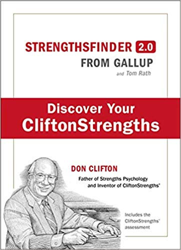 Clifton StrengthsFinder 2.0 - This book changed my life 5 years ago and I am grateful to do what I love every day. Over 7 Million people have completed Gallup's quick assessment of your natural gifts along with a book packed with practical insights that can change your life.