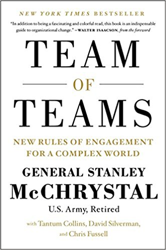 Team of Teams - General Stanley McCrystal - I'm going to write a single paragraph here.Purchase Team of Teams NOW…..