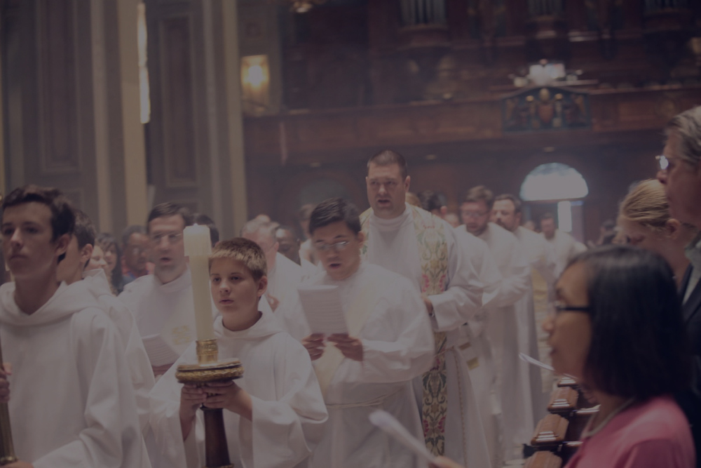 Experience the Lord in the Sacraments