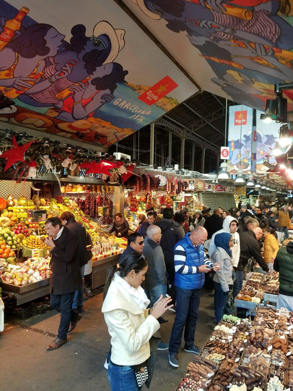 Mercado de Boqueria