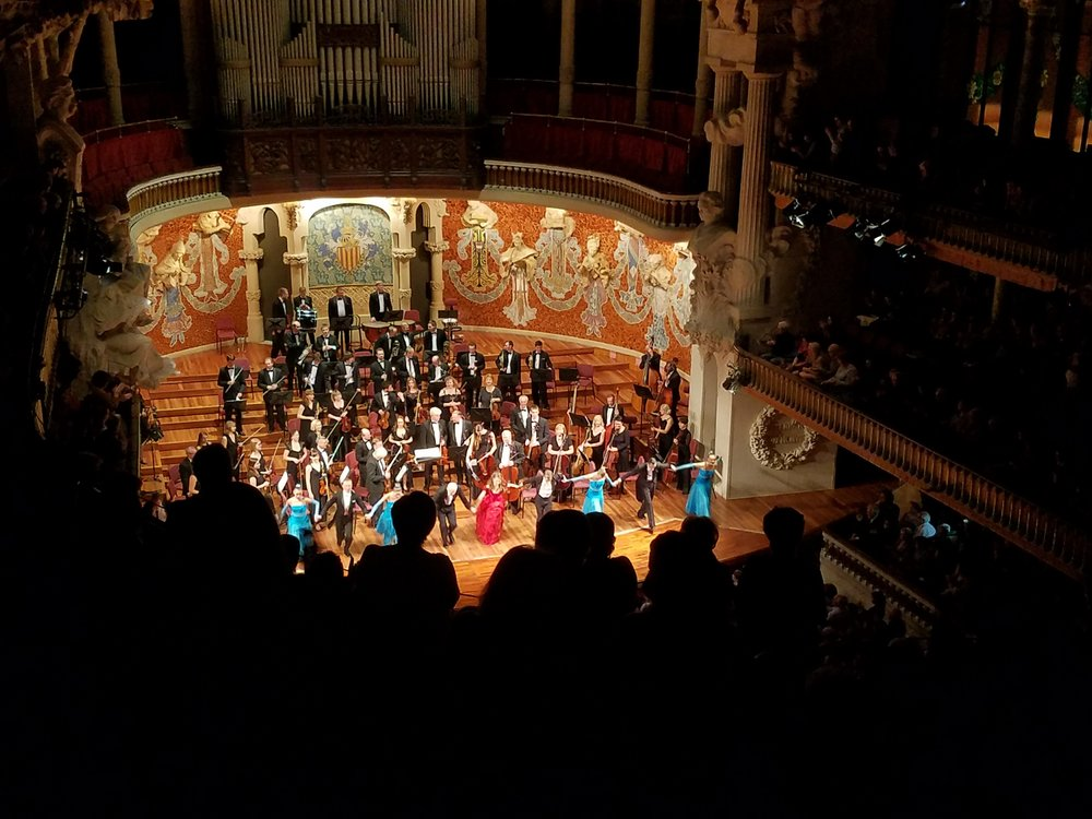 Concert at the Palau de Musica