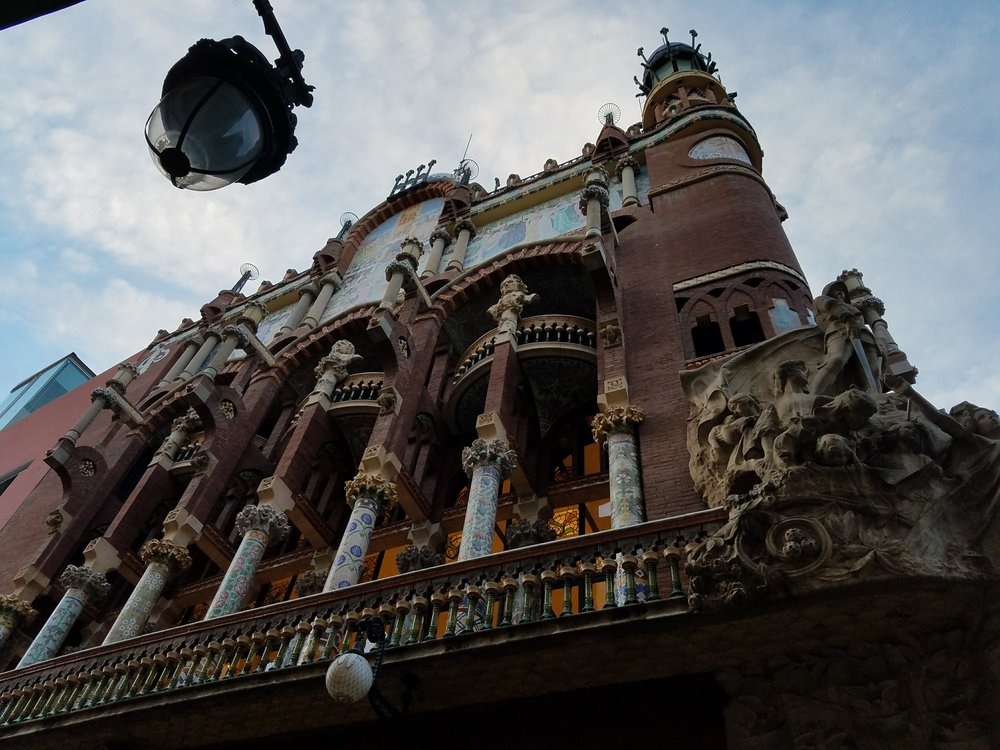 Facade of the Palau de Musica