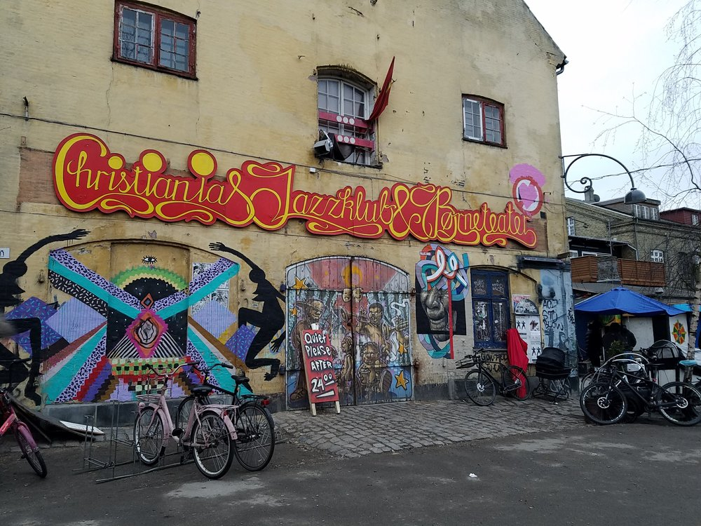 A view from inside Christiania (no photos allowed)