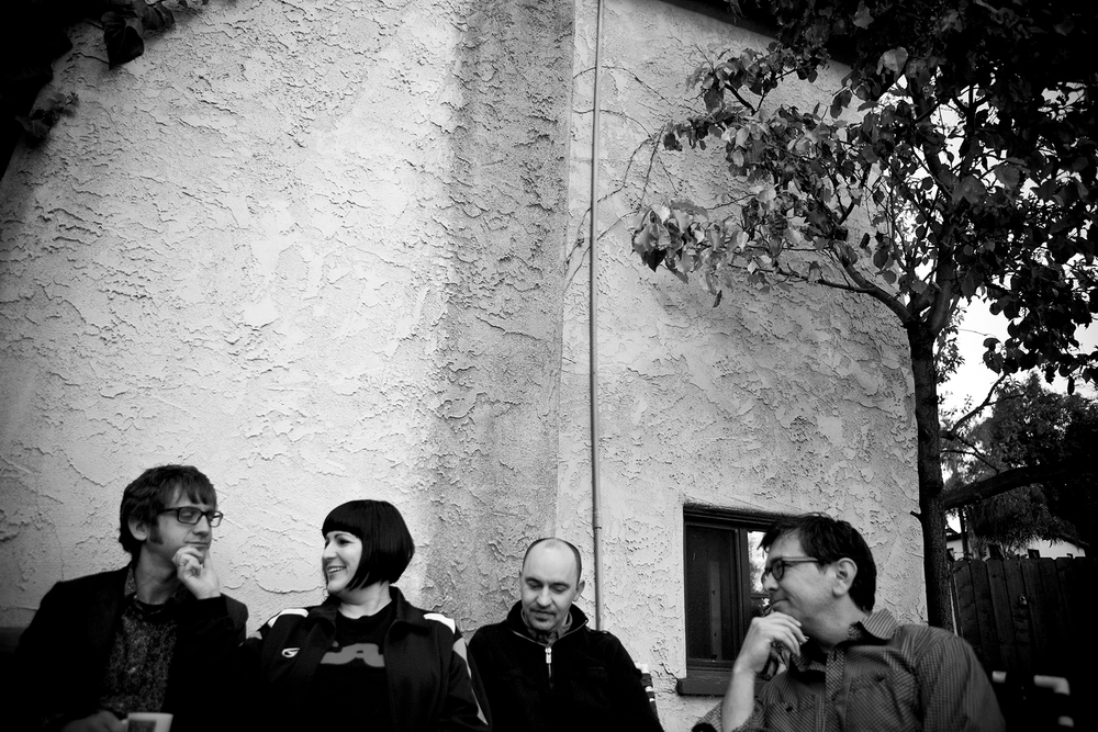 Buzzbands LA Interview, The Committee To Keep Music Evil HQ, Los Angeles, Photo by Laurie Scavo