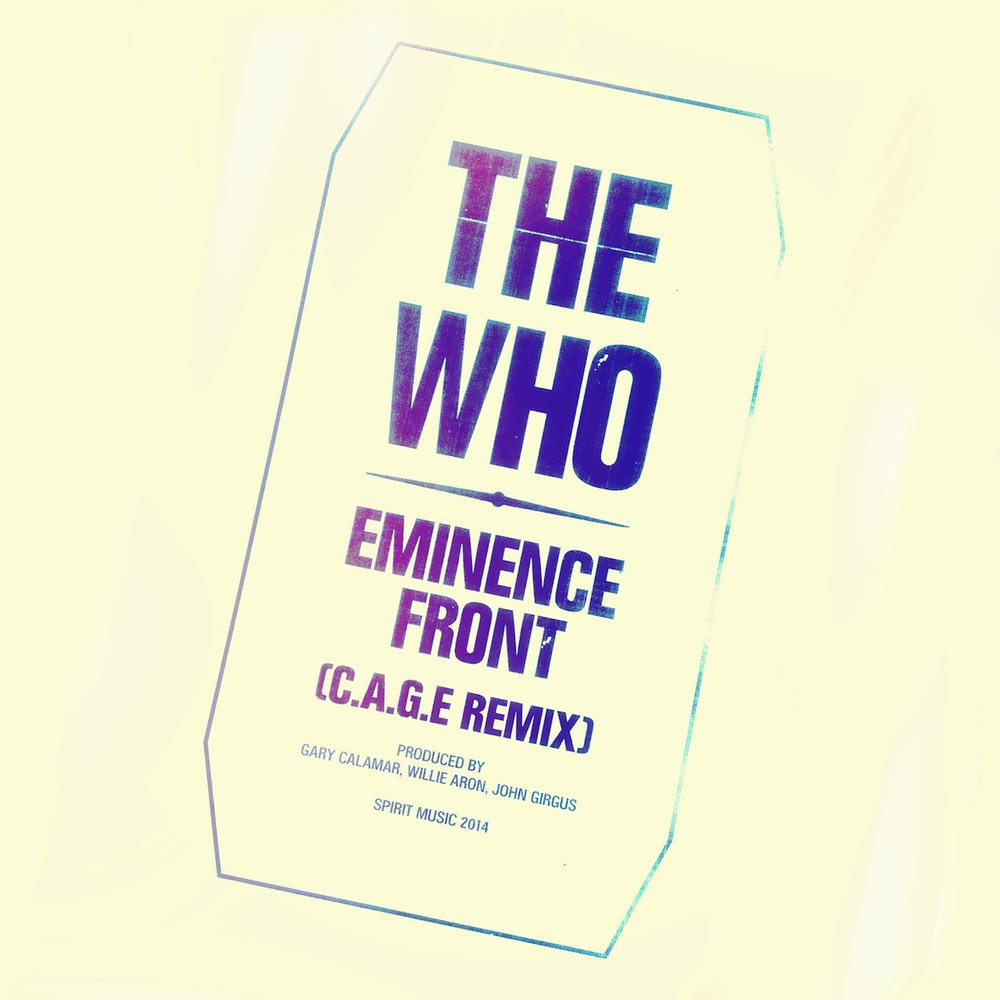 The Who (C.A.G.E.) Remix, Digital Album Artwork