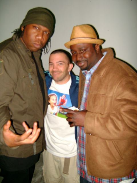with KRS One & Nonstop L.A.