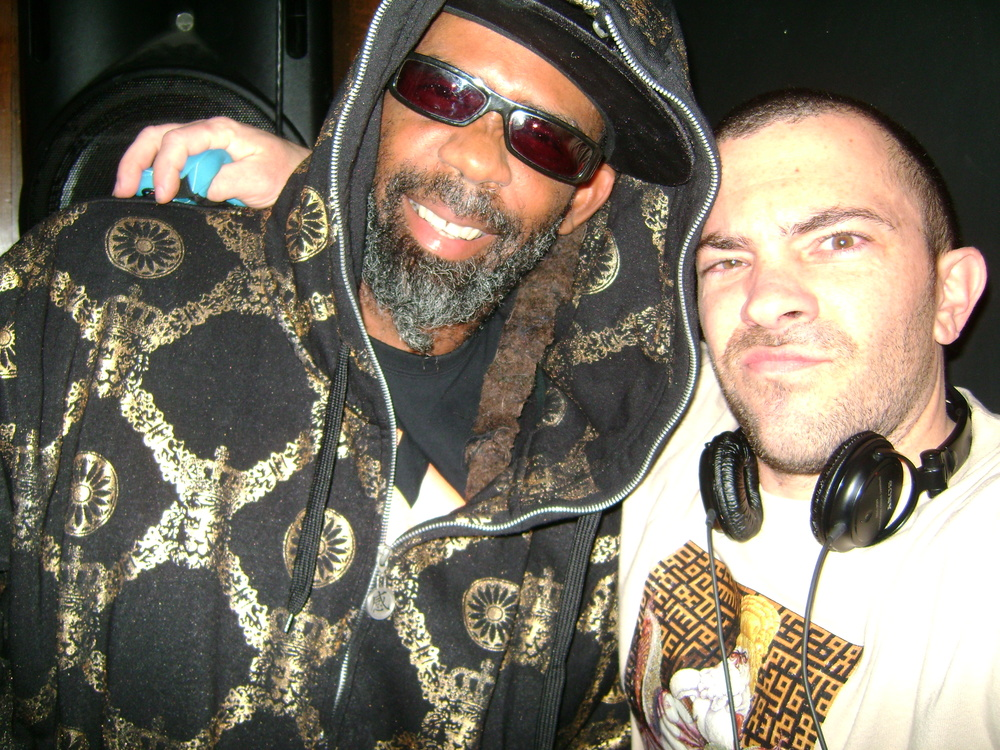 with Norwood from Fishbone. Santa Monica, CA.