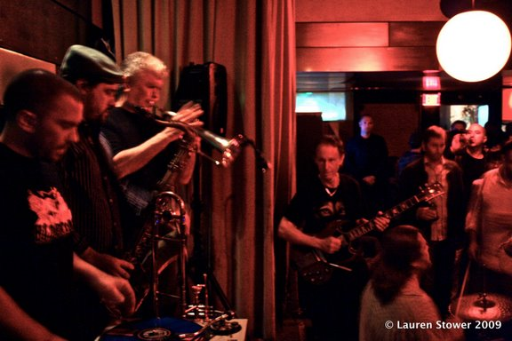 with Back Of The Hand All Stars & Robbie Krieger of the Doors. The Brig. Venice.