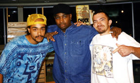 with Baje 751 & Chuck D. Westwood, CA.