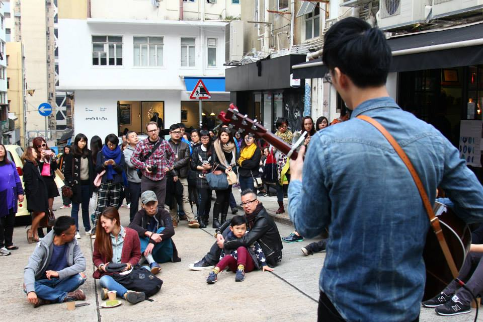 Music performance by Jing Wong and Placemaking Forum